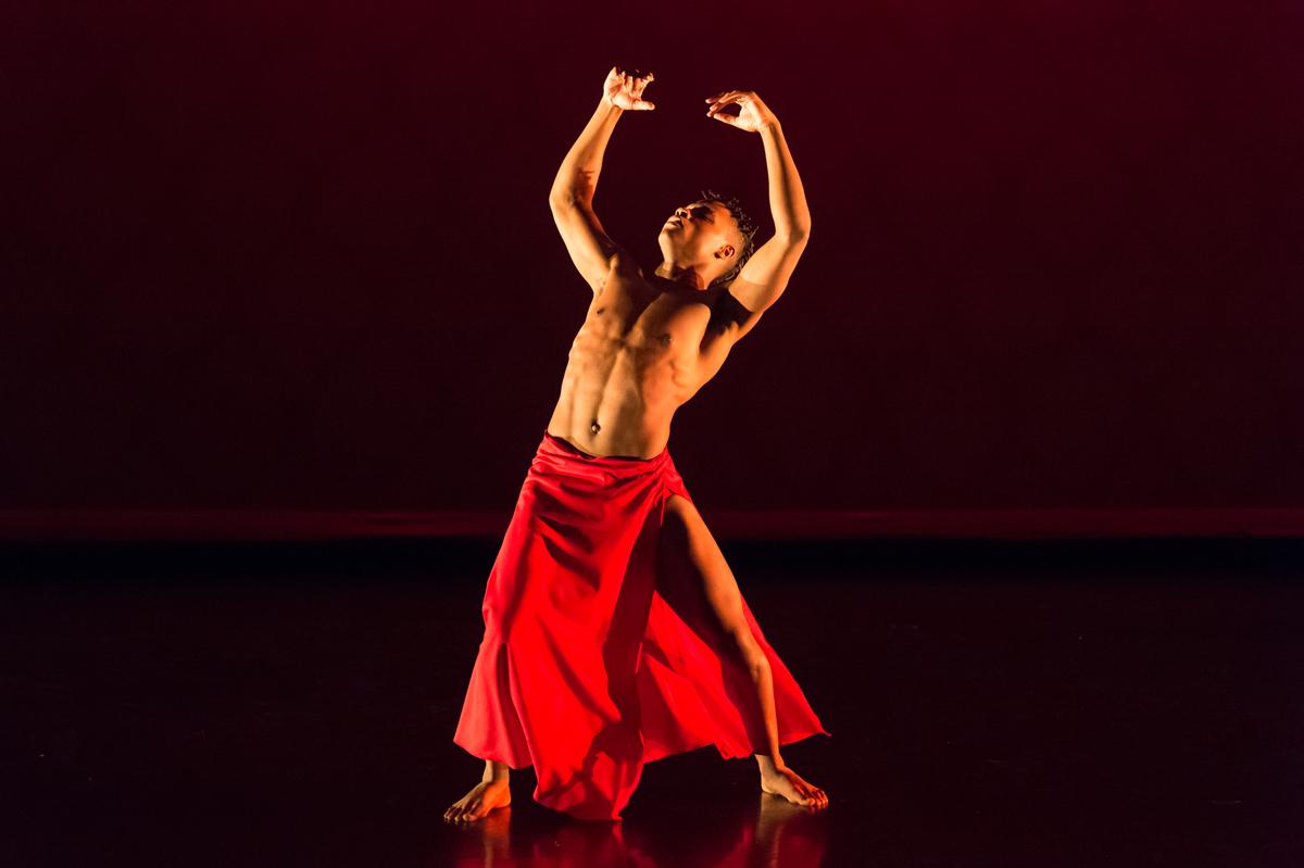 Fall Dance Concert Performance Photo