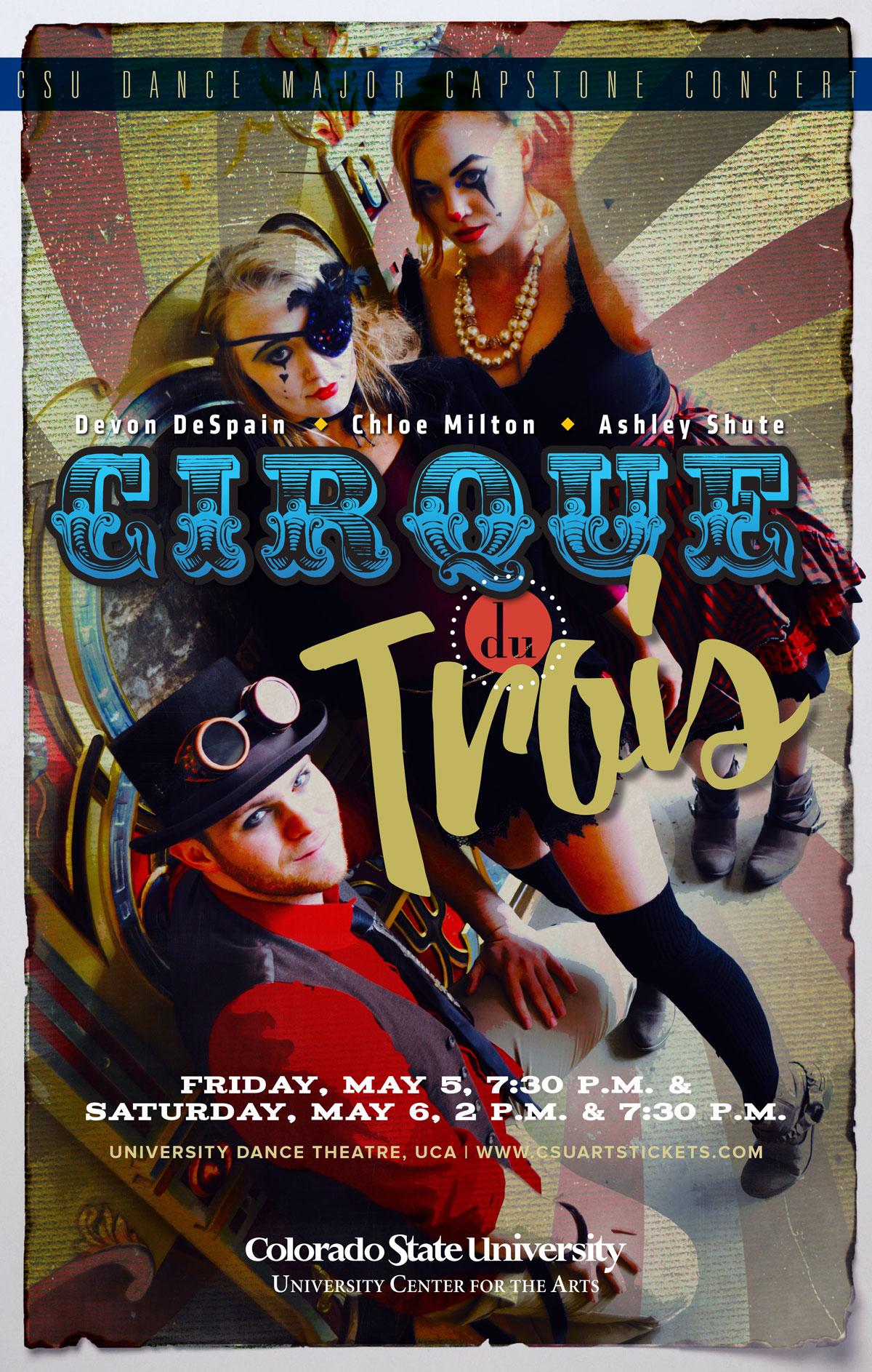 Cirque du Trois Promotional Poster